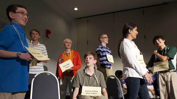 2013 preliminary round of the National Geographic Bee